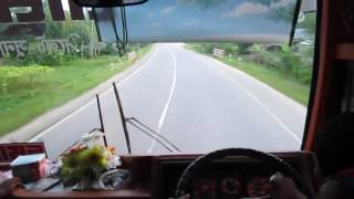 Hino Bus Running @120 Km/h.