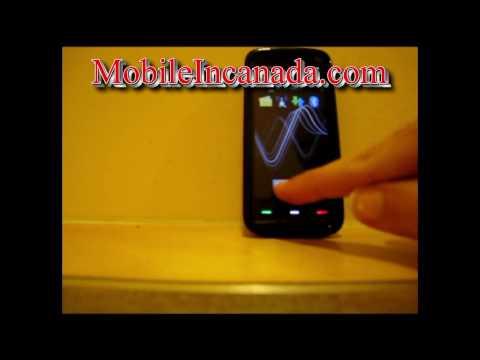 How to enter unlock code on Rogers Nokia 5800 XpressMusic - www.Mobileincanada.com