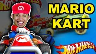 Mario kart Hot Wheels e Arma impressa em 3D thumbnail