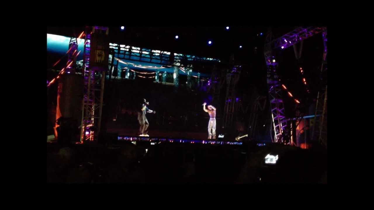 Tupac Hologram UNRELEASED VERSION! Coachella 2pac Holagram ...