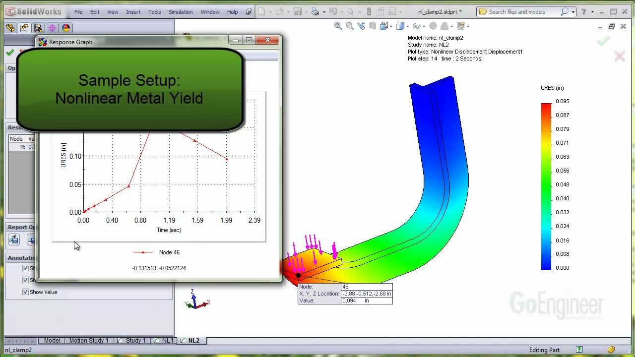 Solidworks Quick Tip Metal Yield Material Youtube Stress Strain Curve Relationship Diagram And Explanation