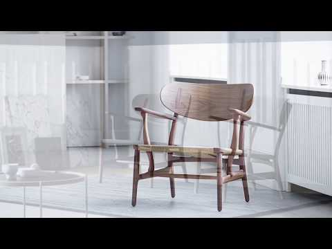 Carl Hansen & Søn - CH22 Lounge Chair By Hans J.  Wegner - English