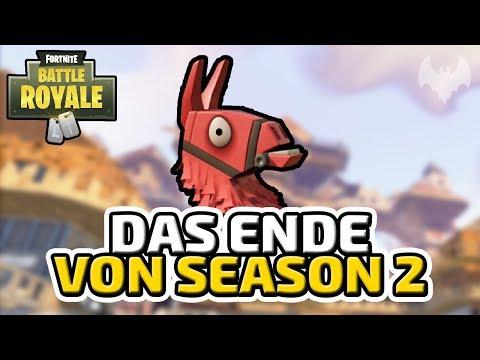 Das Ende von Season 2 - ♠ Fortnite Battle Royale ♠ - Deutsch German - Dhalucard