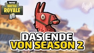 Das Ende von Season 2 - ♠ Fortnite Battle Royale ♠ - Deutsch German - Dhalucard
