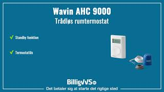 Wavin AHC 9000 trådløs rumterm…