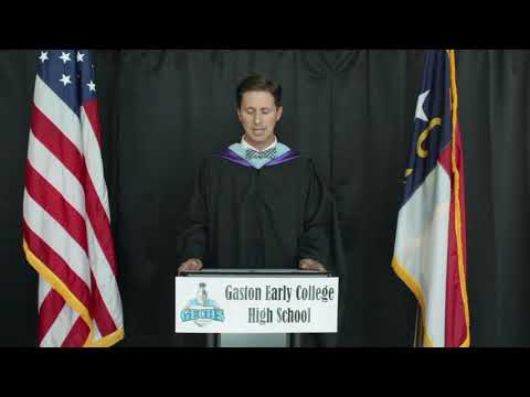 2020 Gaston Early College High School Graduation
