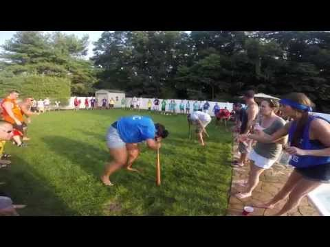 Beer Olympics Jersey Shore 2015 - Dizzy Bat Game