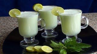 سر عصير الليمون بالنعناع  الخطييير بطريقه الكافيهات من غير مراره خالص(اللهلوبه ام عبد الله )