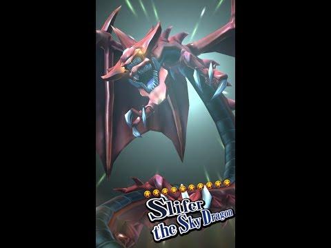 Yugioh Duel Links - Slifer The Sky Dragon's Summon Animation!
