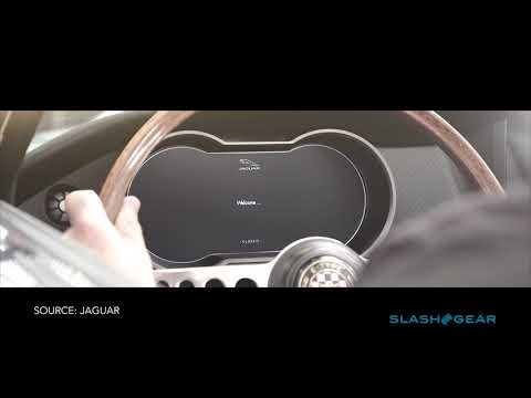 Jaguar E-Type Zero up-close
