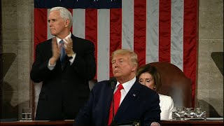 Deployed soldier stuns family at State of Union
