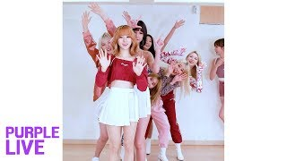 with mubeat Purple LIVE Random Relay We Girls 위걸스 On Air