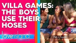 Villa Games: 'Red Hot Rescue:' firemen strip down to save their girl | Love Island Australia 2019