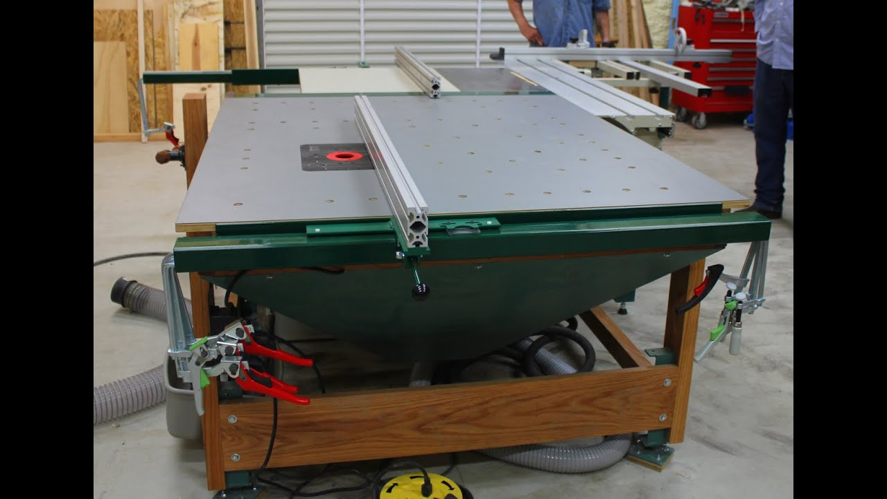 902 Downdraft Multi Function Router Table Outfeed