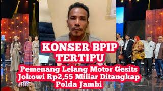 Tertipu:pemenang Lelang Motor Gesits Jokowi Rp2,55 Miliar Ditangkap Polda Jambi