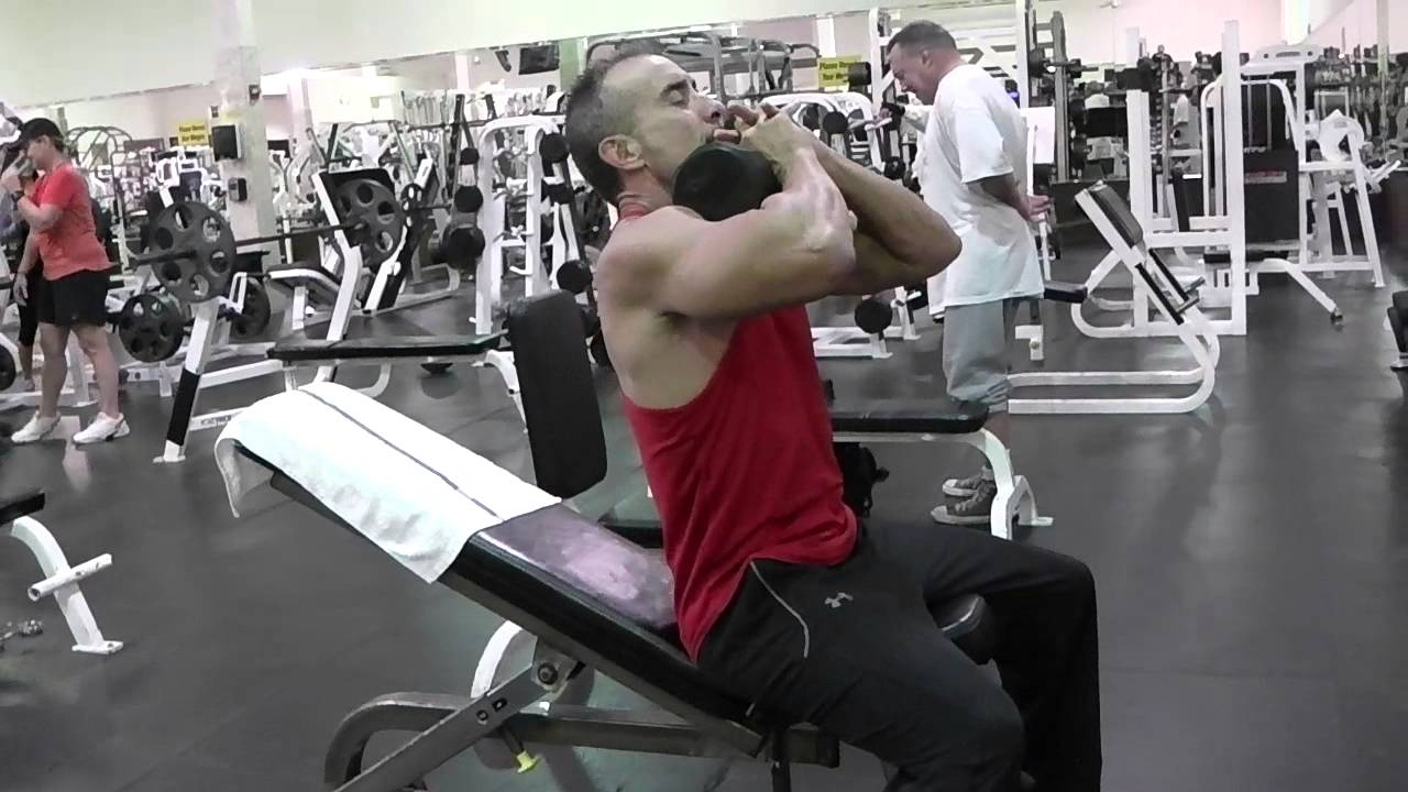 Crunches On Incline Bench Youtube