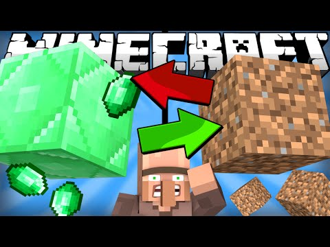 Thumbnail: If Emeralds and Dirt Switched Places - Minecraft