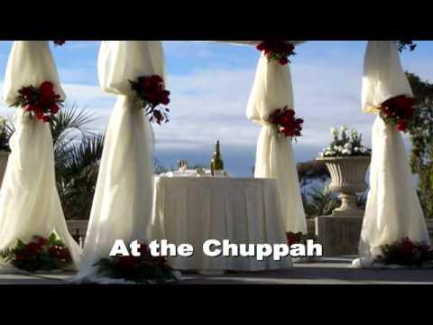 Copacabana parody- AT THE CHUPPAH (parody by Fred Landau, with a Jewish same-sex wedding twist)