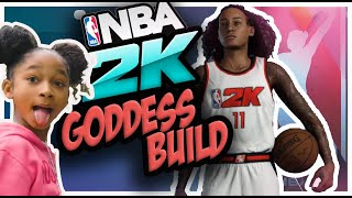 NBA 2K20 - Unlocked Female MyPlayer Build! (Thanks to my daughter)
