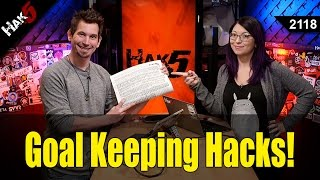 Life Hacks! Hacking Your Way To Better Habits - Hak5 2118