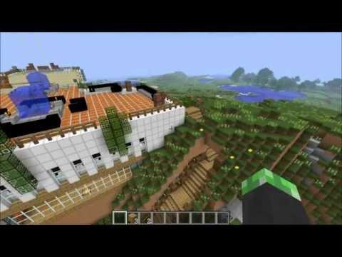 Minecraft la villa pi bella 2013 youtube for Case belle su minecraft