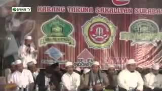 Marhaban Ya Nurul Aini   Kedatangan Habib Syech di Surabaya Syeckhermania Sakalitan