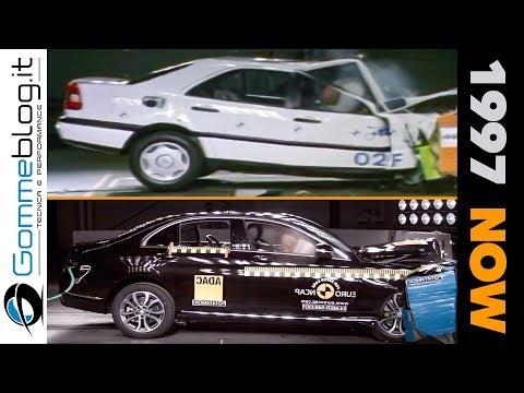 Mercedes C-Class COMPARISON (1997 vs 2019) - CRASH TEST Models