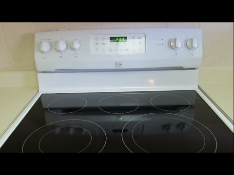 be8bf138223 Kenmore Glass Top Range Review By Owner - YouTube