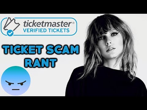 Calling Out Taylor Swift's Ticketmaster Fan Scam (RANT)