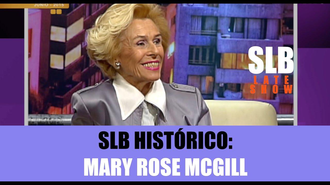 SLB Histórico- Mary Rose Mcgill responde al cuestionario de JC Rodríguez