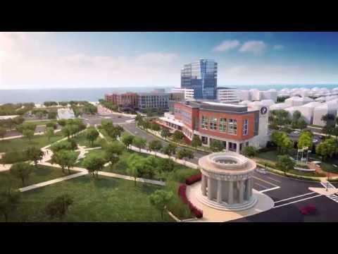 Atlantic City Gateway Project - Flyover Animation