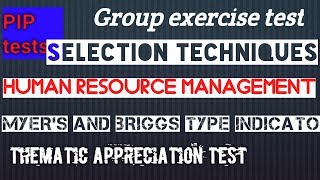 selection 1.2; Selection Techniques; Human Resource Management