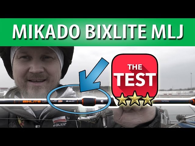 TEST ➤ Mikado Bixlite Medium Light Jig - tanie wędzisko na sandacza