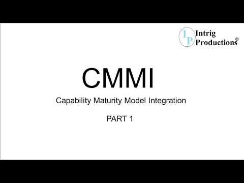 1. Practical Introduction to CMMI - Capability Maturity Model Integration by Praveen -  PART 1