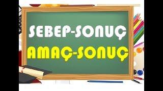 4.sınıf Sebep Sonuç Ve Amaç Sonuç Cümleleri-yardımcı Öğretmen
