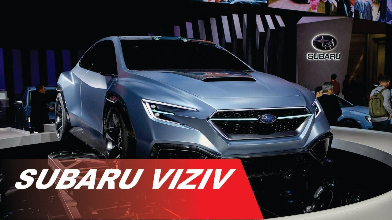 2018 Subaru Viziv Performance Concept Youtube