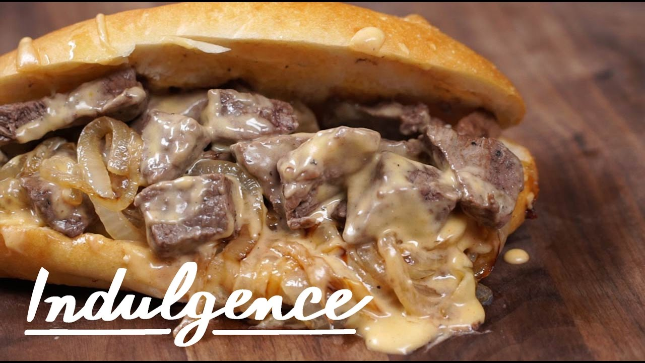 how to make this perfect steak sandwich with cheese sauce