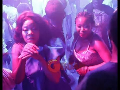 Toyin Abraham, Mide Martins, Liz Da Silva, Eniola Ajao In Dance competition at wedding like carnival