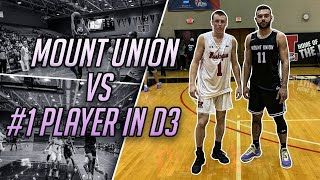 Playing The #1 D3 Basketball Player In The Nation !