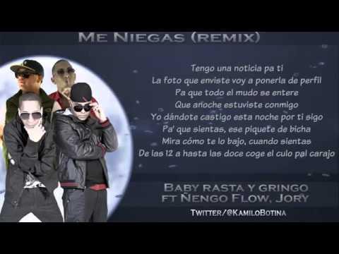 Me Niegas Remix)   Baby Rasta Y Gringo Ft Ñengo Flow Y Jory (Video Con Letra) ROMANTICA 2013