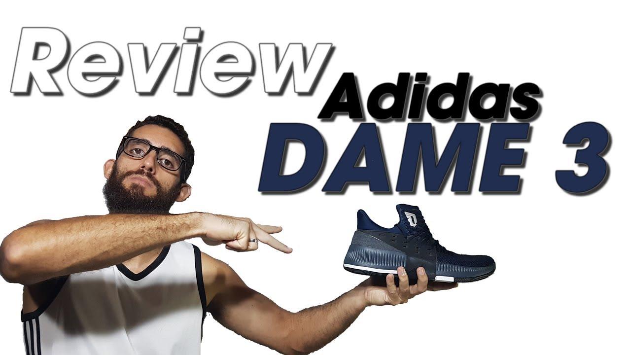 16dd39d71823 Análise tênis Adidas Dame 3   Crazy Time (Review Adidas Dame 3 ptbr) Canal  21onze Tênis de Basquete