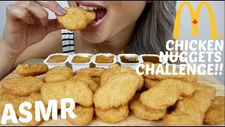 Asmr Mcdonalds Chicken Nuggets Challenge Auzsome Austin No Talking Eating Sounds N E Lets Eat