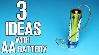 3 Ideen mit AA-Batterie