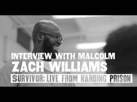 Zach Williams - Interview With Malcolm (Live From Harding Prison)