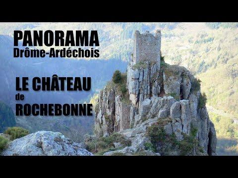 Panorama - Le Chateau de Rochebonne
