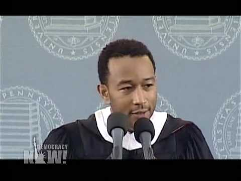 "John Legend: ""A Commitment To Truth Requires A Commitment To Social Justice"" Democracy Now 1 of 2"