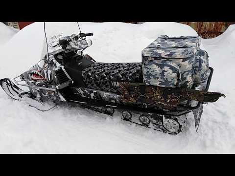 Снегоход Ямаха Браво 250 (тюнинг)