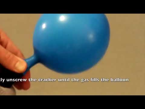 How to use a Nos Cracker   Balloon Cracker   Nos Dispenser  Laughing Gas Cracker