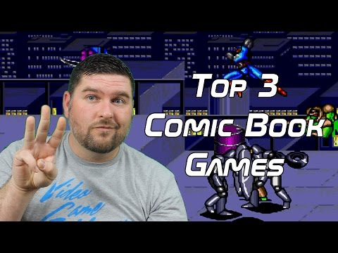 Top 3 Comic Book Games - Top 3 Tuesday streaming vf