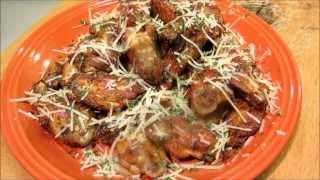 Spicy Garlic Butter Chicken Wings - Zesty Italian Chicken Wings